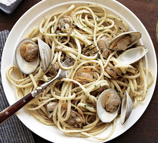 Linguine Clam with White Sauce
